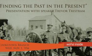 Finding the Past in the Present: an Evening with Trevor Tristram