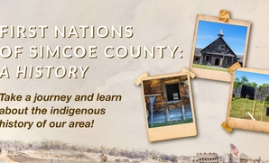 Take a journey and learn about the indigenous history of our area!